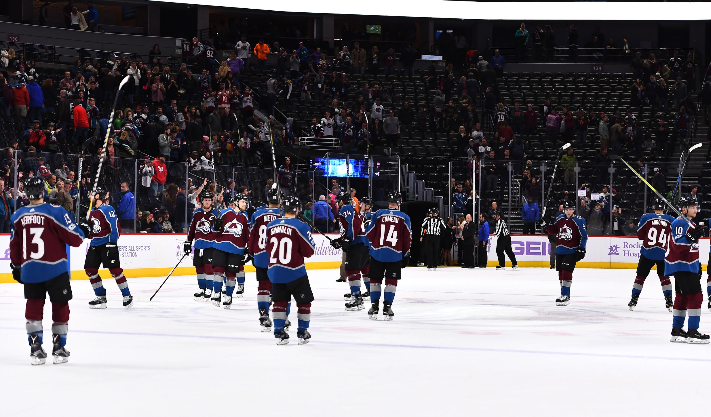For Avalanche winning back the fans isn t easy either
