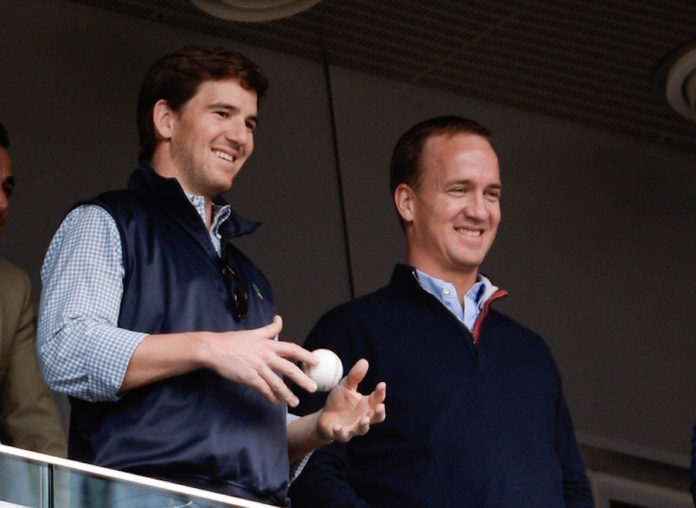 Eli Manning's Father, Archie, Vows Son Will 'Handle' Giants Benching