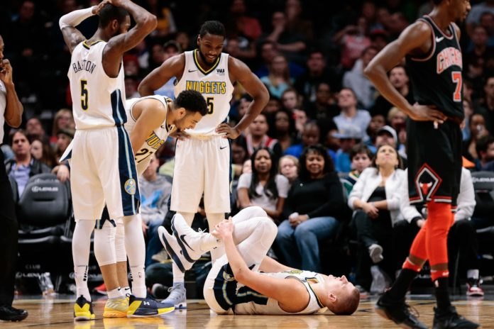 Nikola Jokic expected to miss several games with ankle sprain