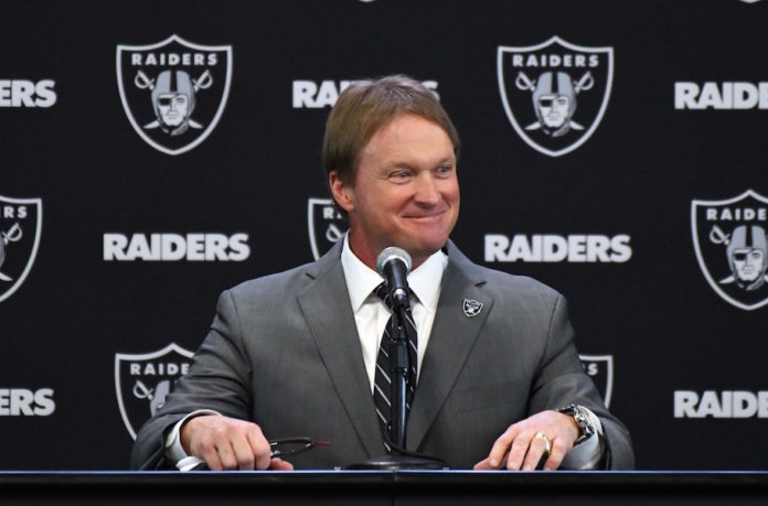 Raiders hire Gruden for some reason