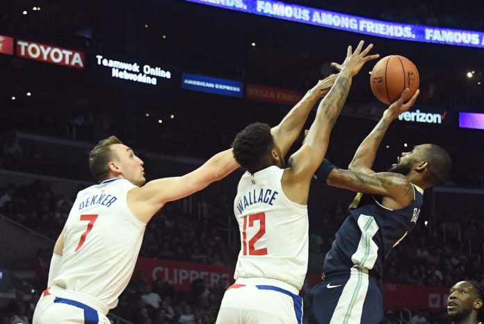 Griffin, Clippers top Nuggets for sixth win in a row