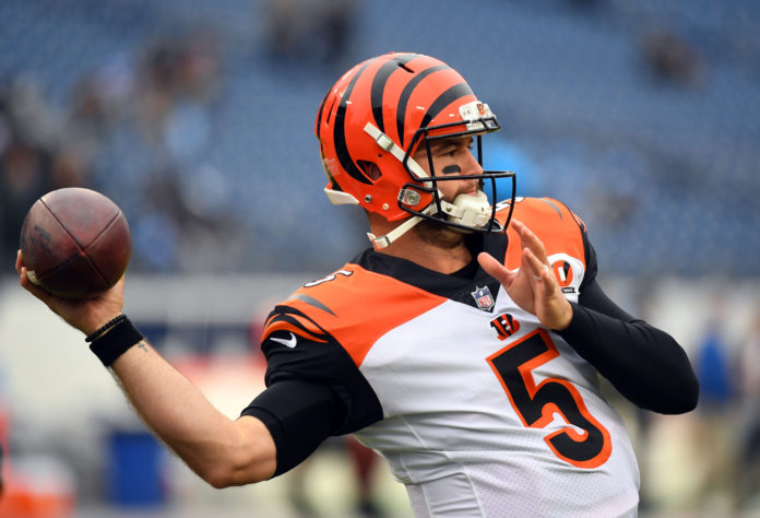 AJ McCarron wins grievance claim with Bengals, is a free agent