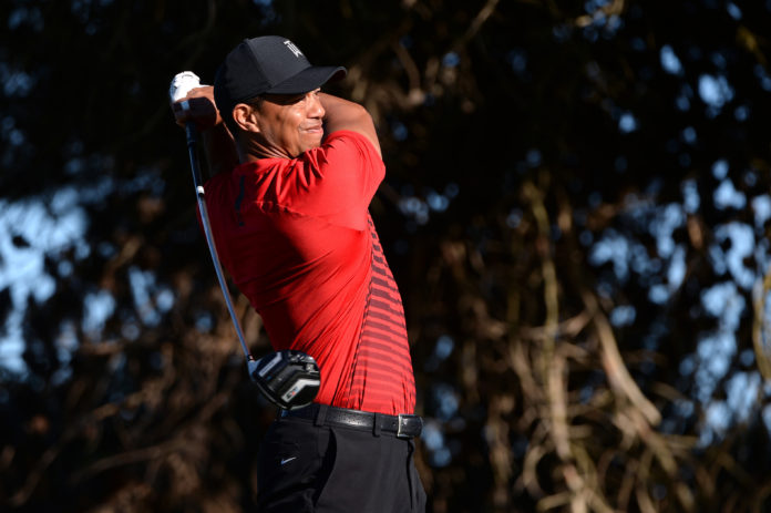 Tiger Woods tames wayward driver ahead of PGA return to Riviera