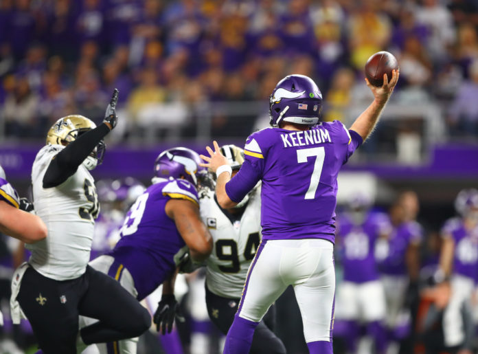 Case Keenum to sign with Broncos on Wednesday