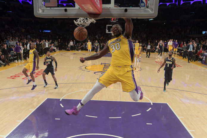 Lakers show LeBron what they've got in 127-113 win