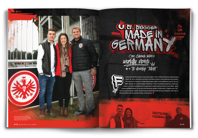 U S  Soccer: Made in Germany | Mile High Sports