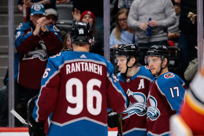 hot sale online 8b2cc a138e Colorado Avalanche forwards to watch at Training Camp