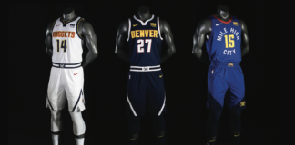 Denver Nuggets 18-19 EVOLVE Jerseys