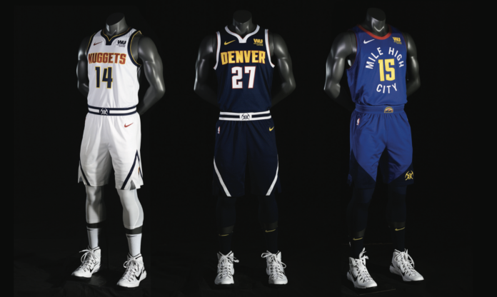 fa4e822661f Nuggets unveil new look as team prepares for the next step in their ...