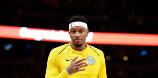 Denver Nuggets guard Torrey Craig (3) in the fourth quarter against the New York Knicks at the Pepsi Center.