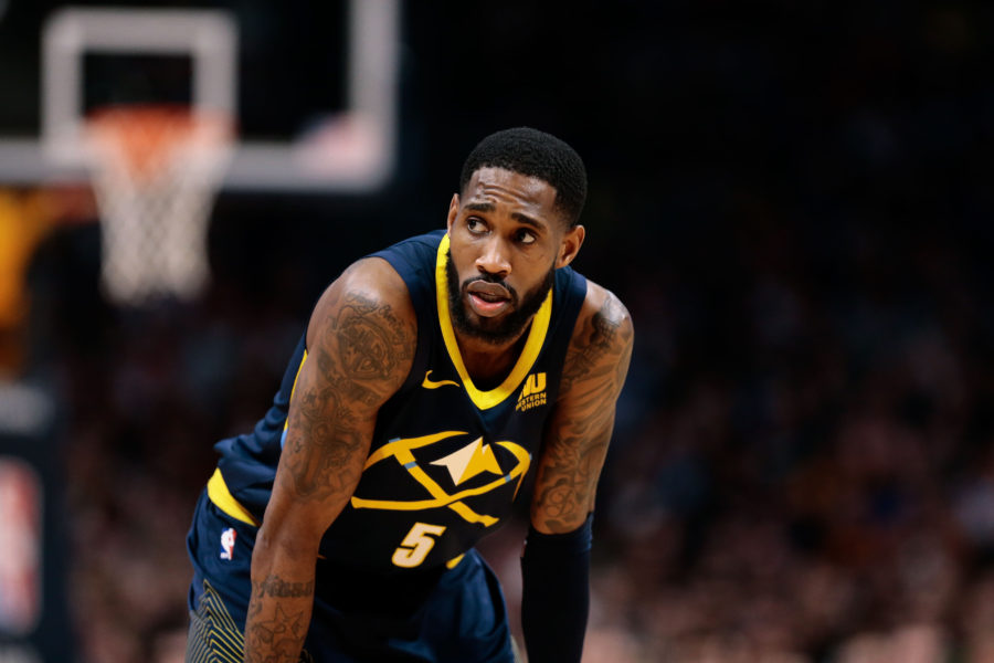 Denver Nuggets forward Will Barton (5) in the third quarter against the Cleveland Cavaliers at the Pepsi Center.