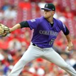 Kyle Freeland. Credit: Aaron Doster, USA TODAY Sports.