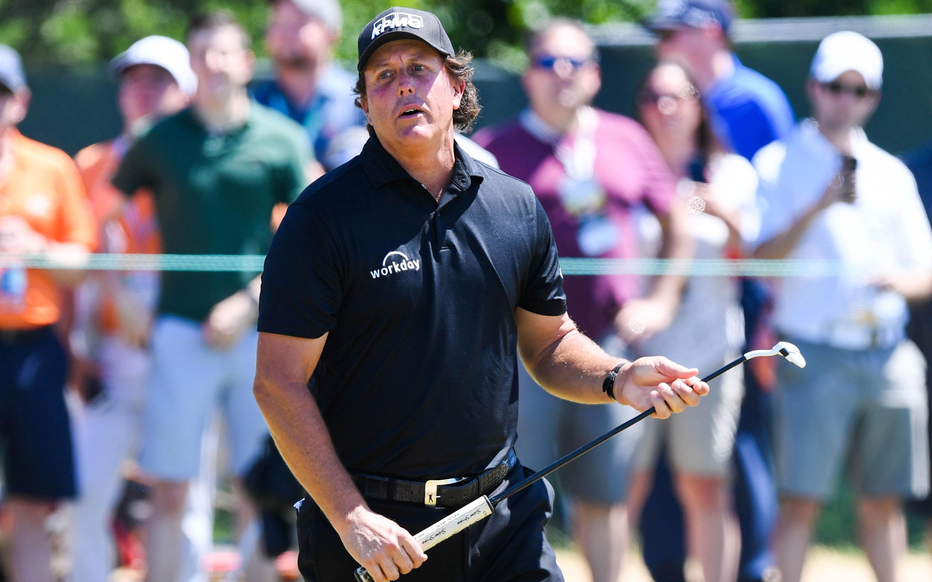 Phil Mickelson. Credit: Dennis Schneidler, USA TODAY Sports.