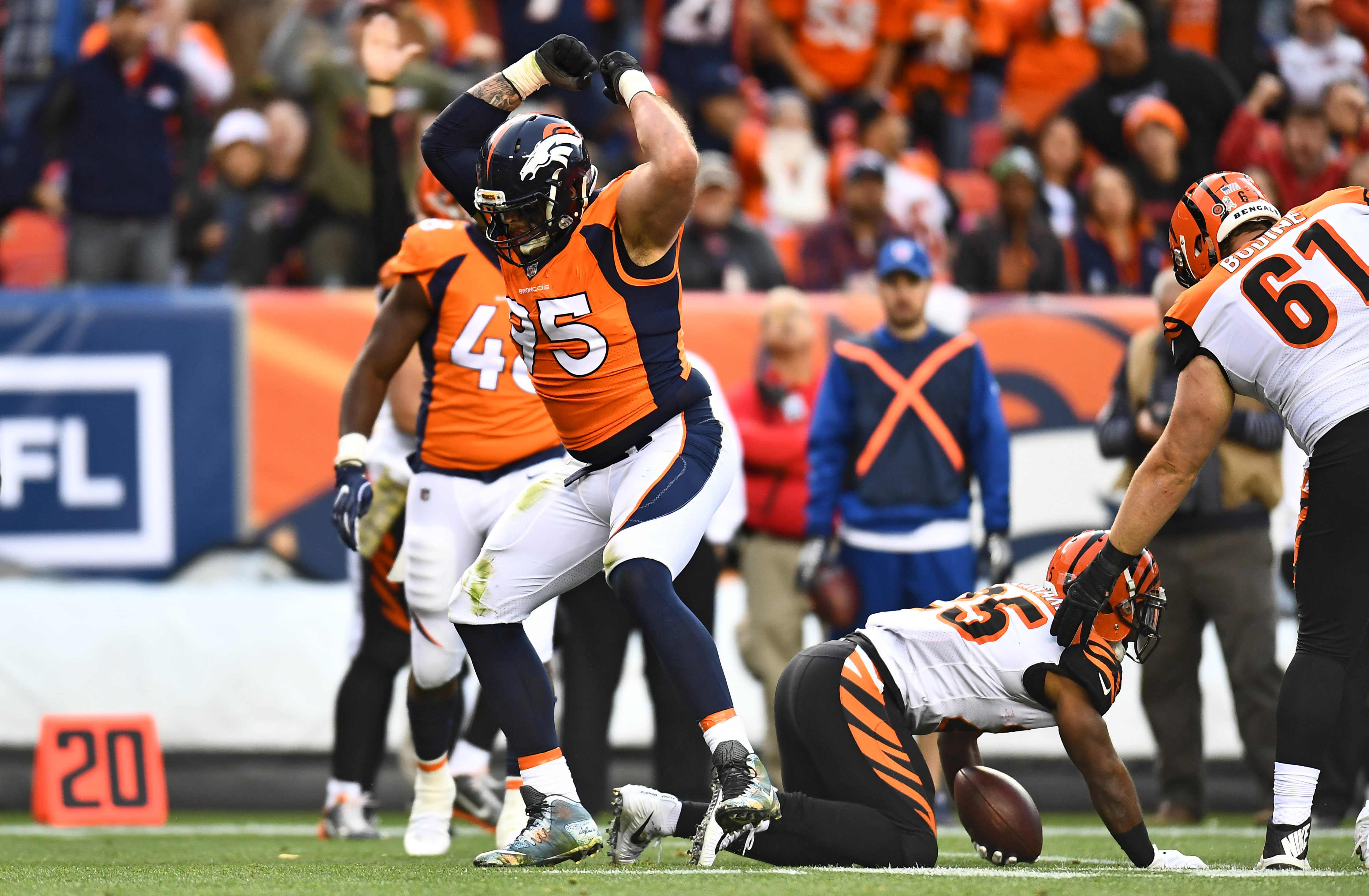 Denver broncos bleacher report latest news scores stats and can broncos defensive line repeat last years success voltagebd Images