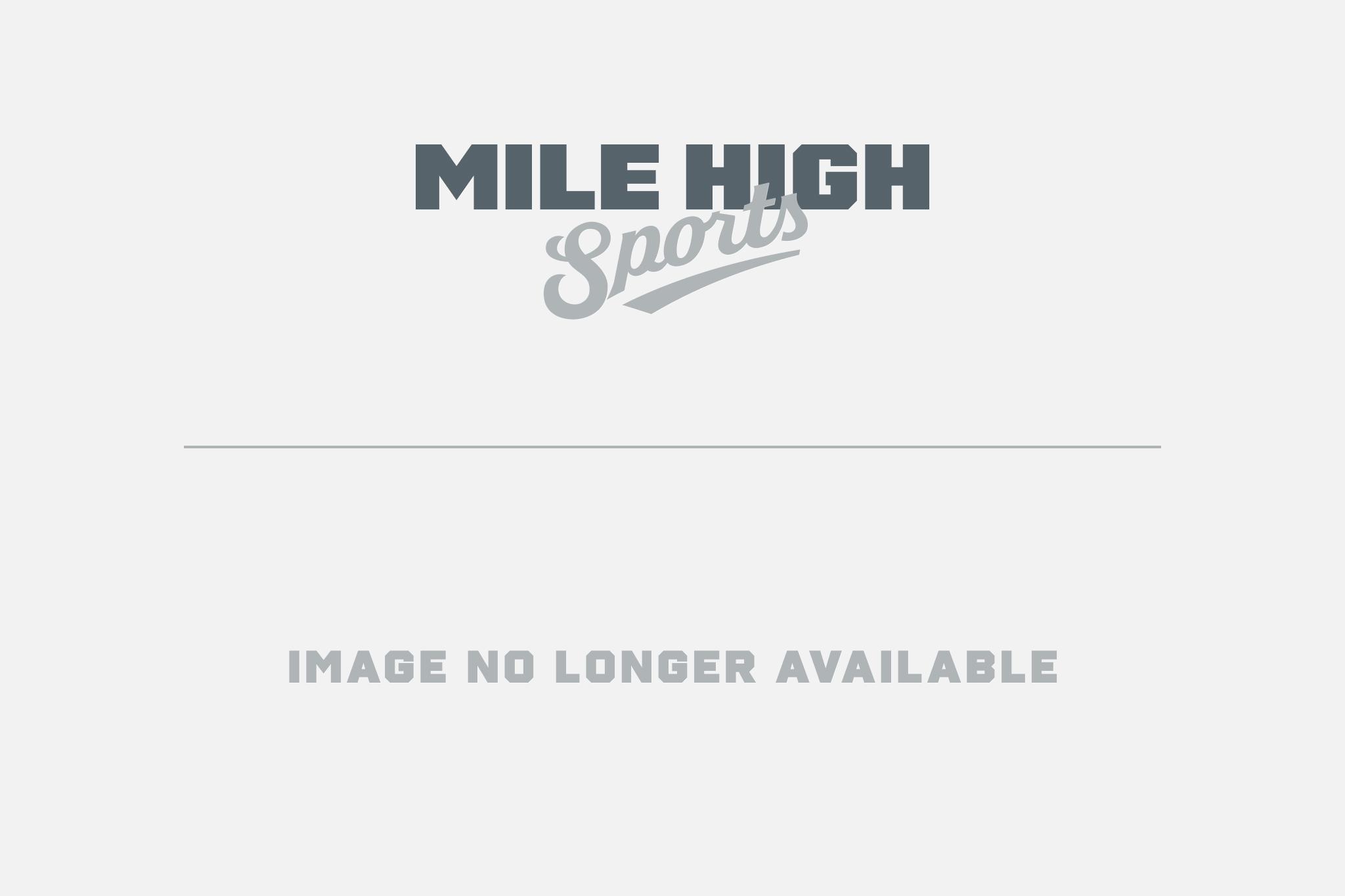 Mike Bobo watches K.J. Carta-Samuels and his Rams practice on Aug. 2. Credit: Rich Kurtzman