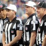 Gene Steratore, who was poached by NBC before the 2018 season, seen here before Super Bowl LII. Credit: Winslow Townson, USA TODAY Sports.