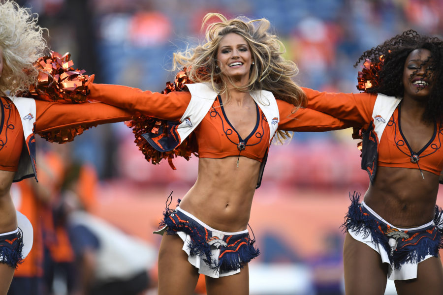03e028851 Empowerment or Eye Candy   Broncos cheerleaders featured on HBO s ...