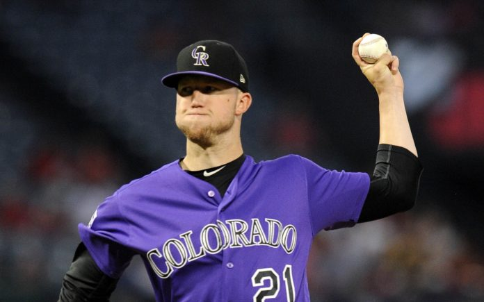 Kyle Freeland. Credit: Gary A. Vasquez, USA Today Sports.