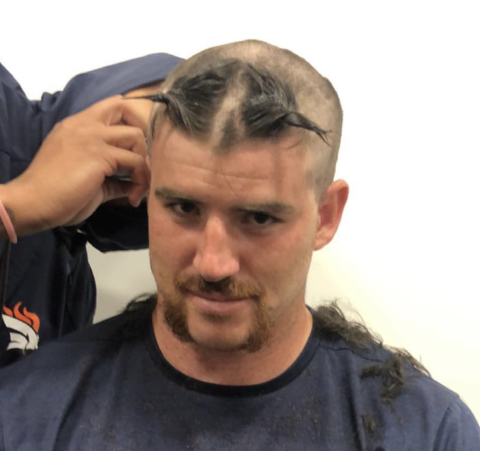 Rookie Haircut Day At Broncos Training Camp Mile High Sports