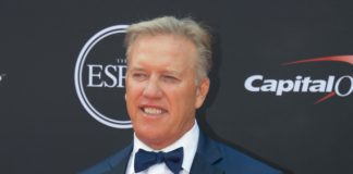 John Elway at the ESPY's. Credit: Kirby Lee, USA TODAY Sports.