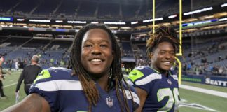 Shaquem and Shaquill Griffin. Credit: Kirby Lee, USA TODAY Sports.