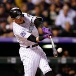 Trevor Story's home run. Credit: Isaiah J. Downing, USA Today Sports.