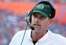 Mike Bobo. Credit: Kim Klement, USA TODAY Sports.