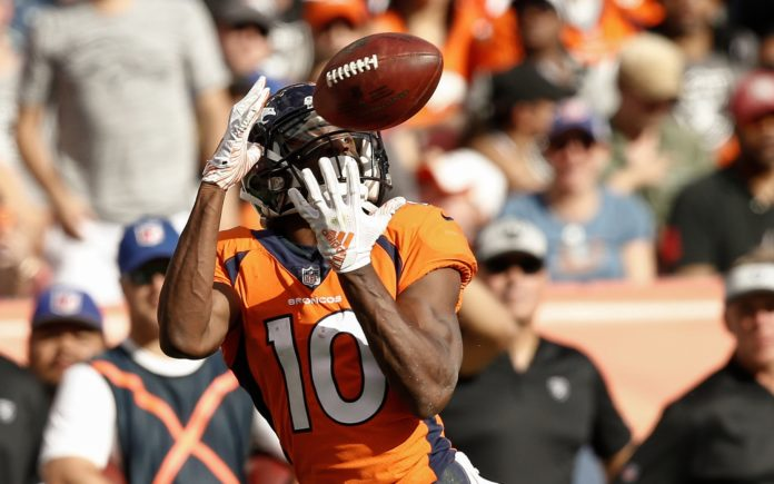Emmanuel Sanders Suffers Torn Achilles, Out For Season