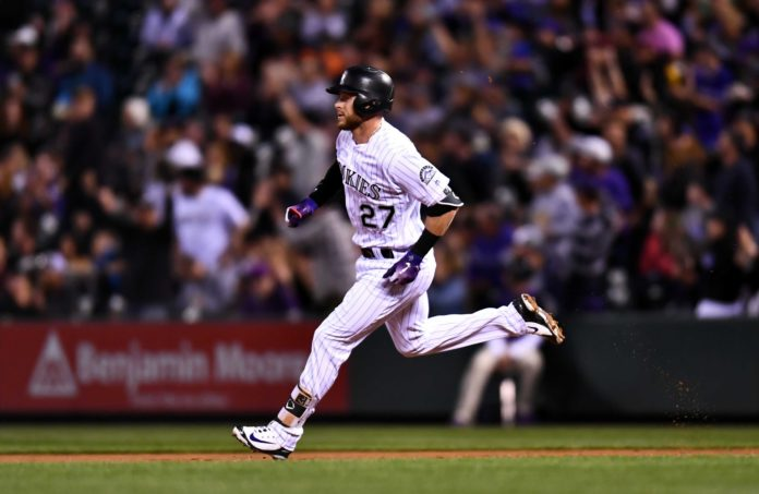 Rockies Blow Out Phillies Retake Lead In National League Wild Card