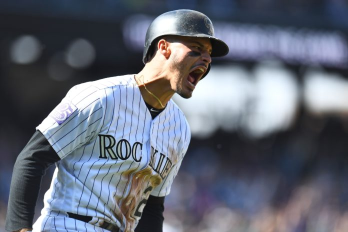 Rockies' OF Charlie Blackmon Hits for Cycle in 12-0 Win