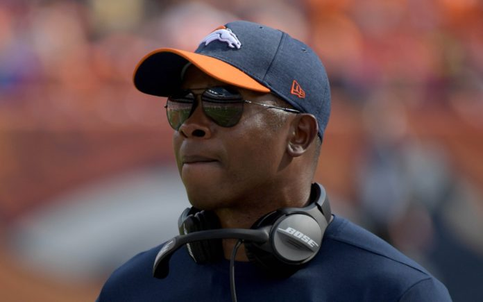 Vance Joseph. Credit: Kirby Lee, USA TODAY Sports.