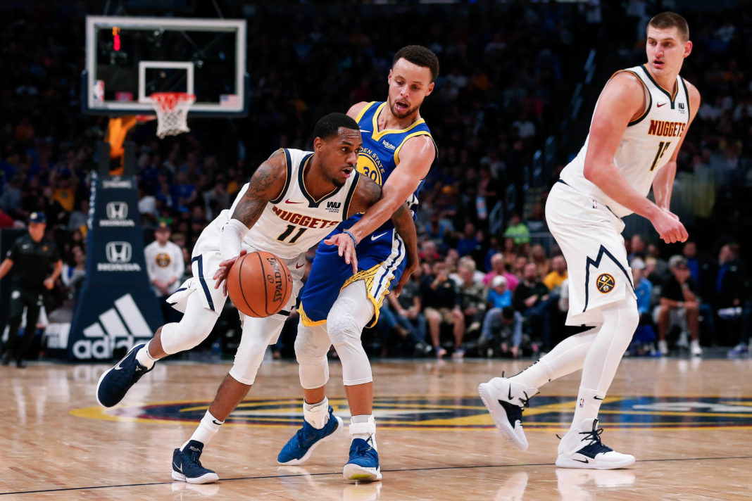 nuggets warriors betting