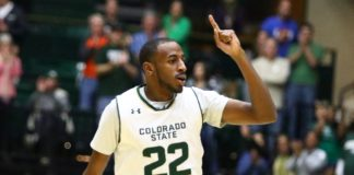 J.D. Paige. Credit: CSU Athletics Communications.