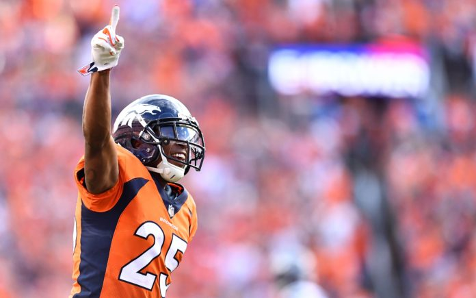 Chris Harris. Credit: Ron Chenoy, USA TODAY Sports.