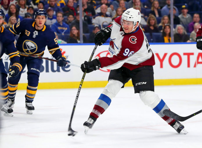 Nathan MacKinnon Scores In OT To Tie Series