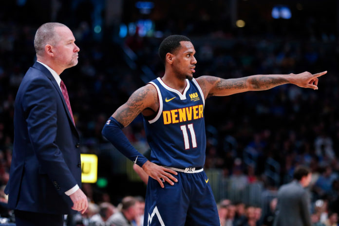 brand new 48a39 e4362 Monte Morris has been the key to Denver's bench unit | Mile ...