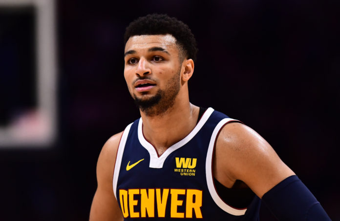 Denver Nuggets guard Jamal Murray during the second half against the Utah Jazz at the Pepsi Center