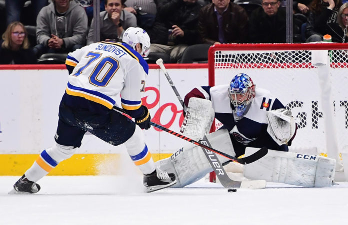287a77959e1 Five takeaways from the Avalanche s 3-2 overtime loss to Blues ...