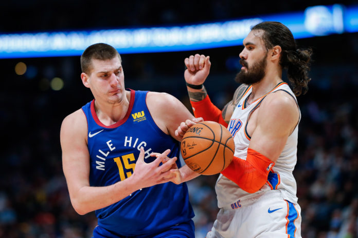 newest eb748 0e85a Jokic, Nuggets shock Thunder for second-straight win | Mile ...