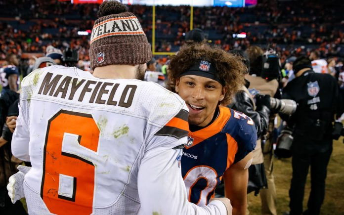 626296a1c Baker Mayfield and Phillip Lindsay. Credit  Isaiah J. Downing