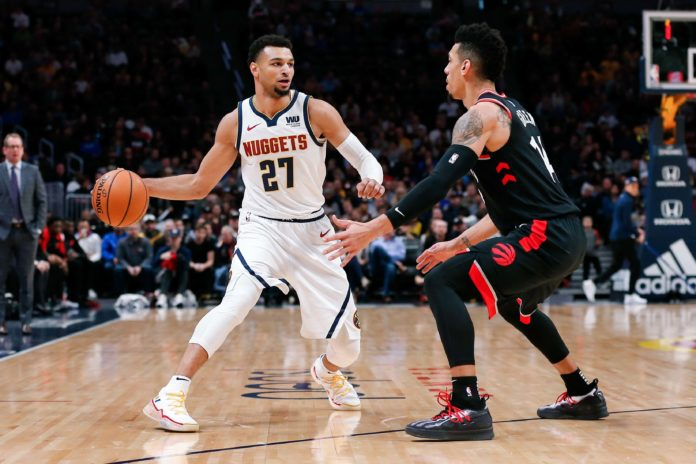 Depleted Nuggets complete season sweep of Raptors