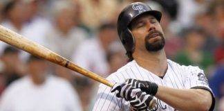 Todd Helton. Credit: USA TODAY Sports.