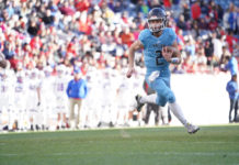 Valor Christian High School quarterback Luke McCaffrey -- PHOTO CREDIT: Paige Stingley/Valor Christian High School