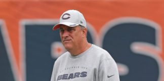Vic Fangio. Credit: Dennis Wiezerbicki, USA Today Sports.