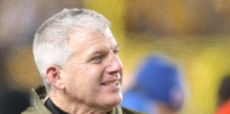Mike Munchak. Credit: Charles LeClaire, USA TODAY Sports.