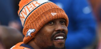 Von Miller. Credit: Ron Chenoy, USA TODAY Sports.