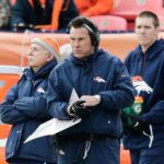 Gary Kubiak as Broncos head coach in 2017. Credit: Isaiah J. Downing, USA TODAY Sports.