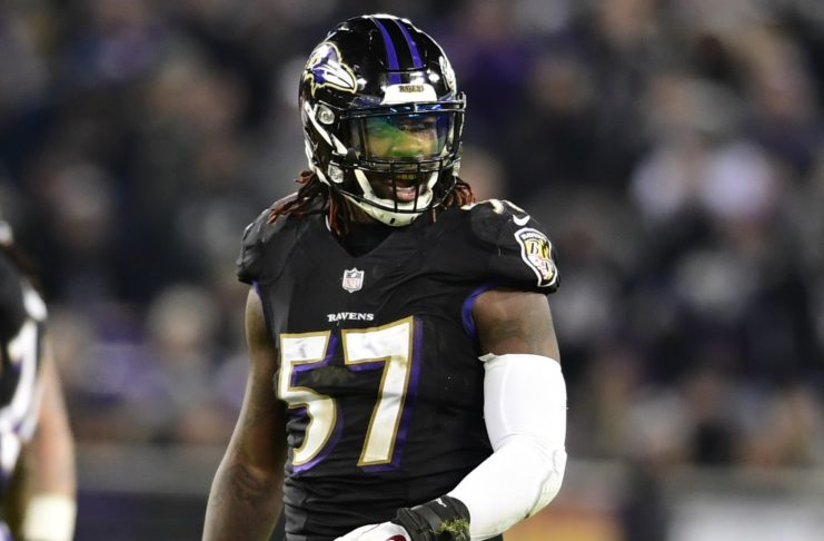 C.J. Mosley. Credit: Tommy Gilligan, USA TODAY Sports.