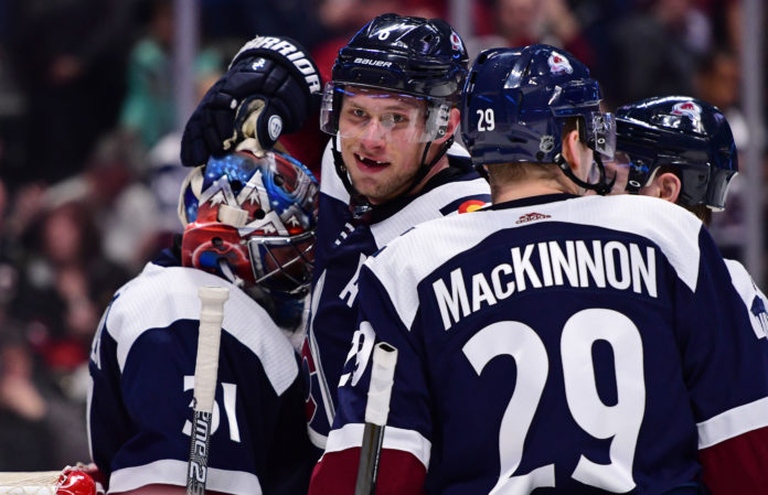 Rantanen could return for Avs' first-round series