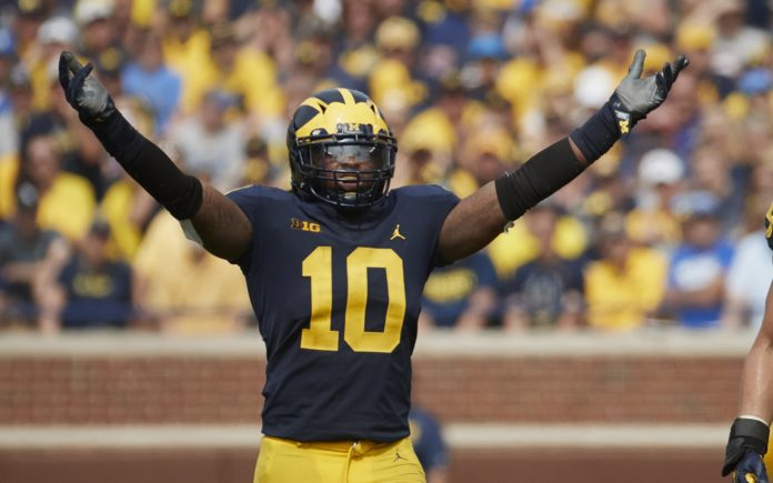 Devin Bush. Credit: Rick Osenteski, USA TODAY Sports.